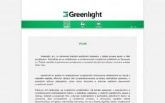 microsite greenlight.sk