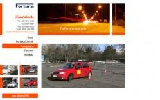 flashová prezentácia autoškoly Fortuna