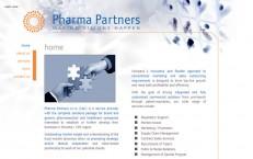 web pre farmaceutických konzultantov pharmapartners.sk