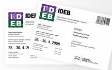 elektronická registrácia na IDEB 2008