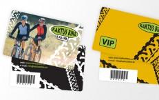 zákaznícke karty pre Kaktus Bike 2008