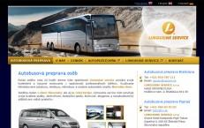 prezentačná stránka autobusovej prepravy