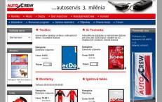 objednávková aplikácia pre autocrew.sk