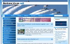 portál letectvo.sk má nový web