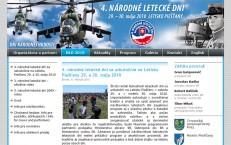 weby pre Národné letecké dni