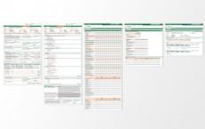 grafika a šablóny pre Všeobecnú úverovú banku