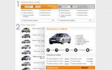 nový web pre autopožičovňu Abrix