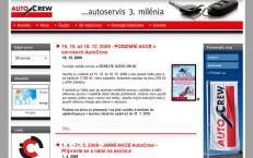 stránka pre český Autocrew