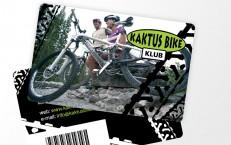 zákaznícke karty pre Kaktus Bike 2010