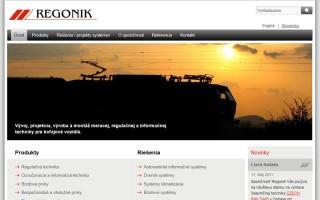 Webstránka Regonik