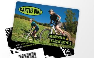zákaznícke karty pre Kaktus Bike 2011